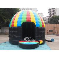 Kids N adults party inflatable disco dome bouncy castle made of lead free pvc tarpaulin Manufactures