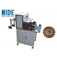 External Armature Automatic Ceiling Fan Winding Machine Two Working Station