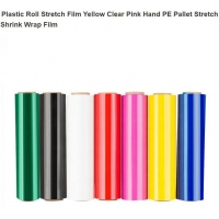 Pallet Stretch Film For Wrap/ Film Stretch, Jumbo Roll Lldpe Hand Pe Stretch Film Price, Free Sample LLDPE Clear Plastic Manufactures