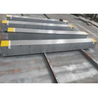Safe Steel Deck Weighbridge 12mm Thick Steel Surface Avoid Truck Scale Bending Manufactures