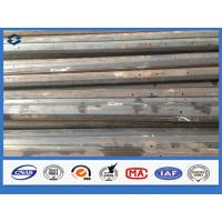 Buy cheap Semi-finished Q345 Steel Octagonal 11m Electricity Transmission Steel Pole from wholesalers