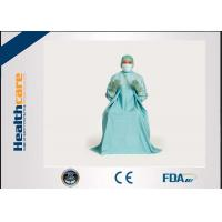 T.U.R Dispoable Surgical Gown Urology Surgery blue colour SMS EO Sterile Manufactures
