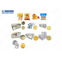 Small French Fried Production Line Sweets Potato Frozen French Fries Making Machine Manufactures