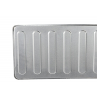 Sliver 600x400x45mm 0.8mm Hot Dog Bun Pan Manufactures