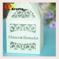Buy cheap Laser Cut Party Wedding Gift Boxes , wedding favors box with free name logo from wholesalers