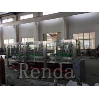 Automated Glass Bottle Wine Filling Machine High Capacity CE Certification Manufactures