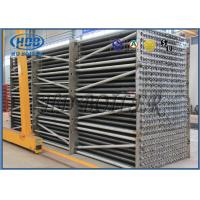 Air Cooled Fin Tube Heat Exchanger Flue Gas Cooler For Condensing Boiler Manufactures