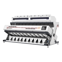 7.5KW 16T/H Steel Frame Rice Color Sorter Machine Manufactures