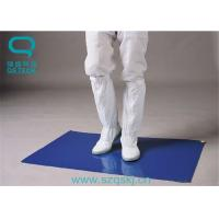 Buy cheap LDPE Film Material Sticky Mats For Clean Rooms Multiple Color 30 Layers from wholesalers