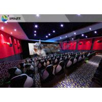 Amusment Park Special Effects Electric Movie Theater Motion Seats 7D 9D 12D XD Cinema Manufactures