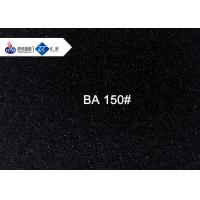 90# - 260# Black Aluminum Oxide Fine Grits For Stainless Steel Tableware Polishing Manufactures