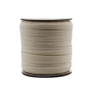 Buy cheap 1.8cm White Herringbone Cotton Webbing Tape For Garment from wholesalers