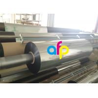 22 Mic Metalized Polyester Film For Paper / Paperboard 3 Inch Core Manufactures