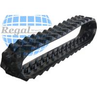 China snowmobile rubber track 15x168 with a 2 inch made from natural rubber for sale for Excavator/Harvester on sale