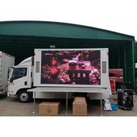 HD P16 Advertising LED Mobile Billboard Static Scan Type 15 - 200m Viewing Distance Manufactures