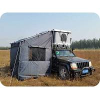 Quality single layer fiberglass Hard Shell Roof Top Tent for sale