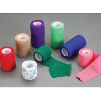 Non Woven Elastic Cohesive  Bandage Colorful With Different Wide And Length Manufactures
