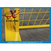Easy Install Temporary Construction Fence Panels For Sports Field XLF-10 Manufactures