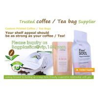 Eco Recyclable Reusable Resealable Doypack Coffee Tea Bag Red Stand up Pouch with Valve and k Chocolate, Potato Manufactures