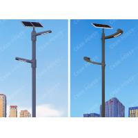 Buy cheap Outdoor 80w CREE LED Smart Solar Street Light 10800lm Flux Smooth Surface 12.8V from wholesalers