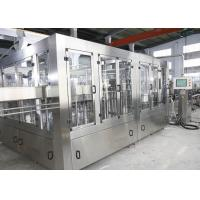 10 Capping Heads 12000BPH Carbonated Soft Drink Filling Machine Manufactures