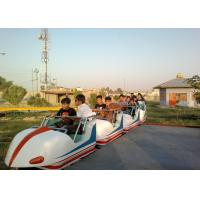 Space Train Design Kiddie Roller Coaster Customized Capacity For Children / Adults Manufactures