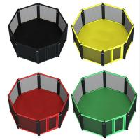 Custom MMA octagon cage international boxing cage size  6m*6m & 7m*7m Manufactures