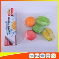 PE Clear Freezer Zip Lock Bags , Double Resealable Freezer Bags For Food Manufactures