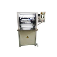 Effective 700 Cycles Automatic Coil Binding Machine PVC Spiral Single Rings Manufactures