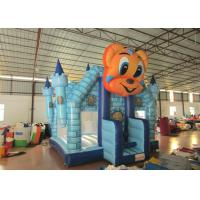 Cartoon Commercial Bounce House , Attractive Inflatable Bounce House 5 X 5m Manufactures