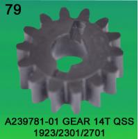 A239781-01 GEAR TEETH-14 FOR NORITSU qss1923,2301,2701 minilab Manufactures