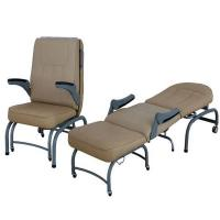 Three Section Accompany Chair Hospital Furniture Foldable Can Be Use As A Bed Manufactures