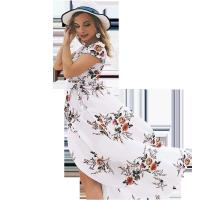 Holiday Beach Women'S Short Sleeve Casual Dresses 100% Polyester Manufactures