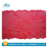 Stretch Lace Nylon Embroidery Lace Fabric Spandex Lycra Lace Fabric Manufactures