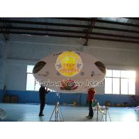 3.5*2m Reusable Inflatable Advertising Oval Balloon,0.18mm helium quality PVC with Two side printing for opening events Manufactures