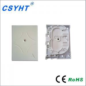 Buy cheap Factory Price 2port SC UPC Simplex indoor Fiber Wall Mount splitter Terminal Box from wholesalers