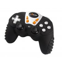 12 Button 4 Axis RF Wireless Gamepad , Analog / Digital Mini Game Pad Manufactures