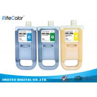 Buy cheap Wide Format Inks 700ML Canon Ipf9400 Plotter Premium Pigment Ink Tank from wholesalers