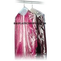 Cheap Wholesale Transparent Disposable Garment Plastic plastic dry cleaning bags on roll for clothing Manufactures