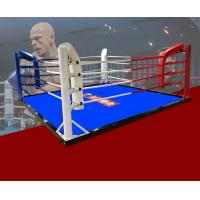 Size3*3m/ 4*4m/5*5m/6*6m/7*7m/7.8*7.8m Boxing Ring/Floor Boxing Ring Colour custom your logo Manufactures