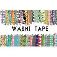 Washi Paper/Rice Paper/Masking Paper Waterproof Paper 50gsm Masking Adhesive Tape Sticky Adhesive Sticker Decorative Manufactures