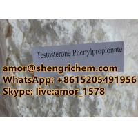 Testosterone Phyenylpropionate white color chunky powder CAS 1255-49-8 Manufactures