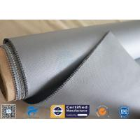 Buy cheap 18OZ Heat Insulation 3732 E-glass 0.45mm Silicone Coated Fiberglass Fabric from wholesalers