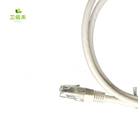 IATF Gold Plated Plug Cat 8 RJ45 Ethernet Cable With Magnet Ring Manufactures
