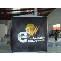 Reusable durable PVC cube balloon with Full digital printing for Opening event Manufactures