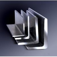 Galvanized Steel Angle , Aluminum Angle Bar Low Carbon Hardened Steel Manufactures