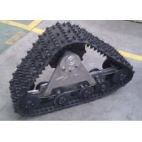 China Aluminum alloy ATV SUV Rubber Track System Convert System for Sale (255mm rubber track,bearing weight of 1 ton) on sale