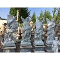 Outdoor garden marble stone statues park marble couple sculptures ,China stone carving Sculpture supplier Manufactures