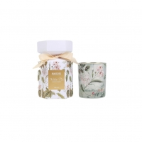Buy cheap Private Label White Color Glass Soy Wax Scented Jar Candle from wholesalers