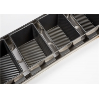595x338x140mm 900g 4 Straps Loaf Baking Tray Manufactures